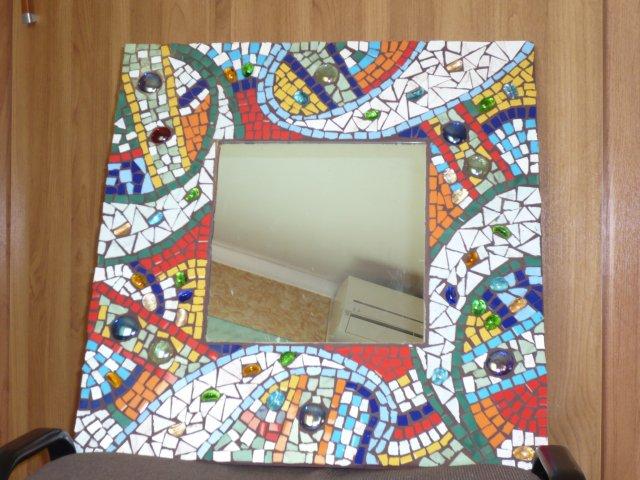Как сделать мозаику для рамки